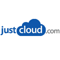 JustCloud Logo for Which Cloud Storage