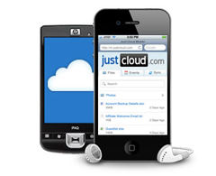 JustCloud Mobile Device Support
